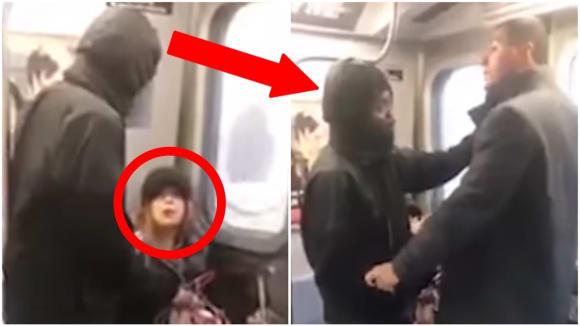 Muž praštil pěstí ženu v metru