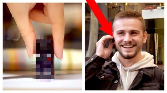 Nejmenší telefon Zanco tiny t1