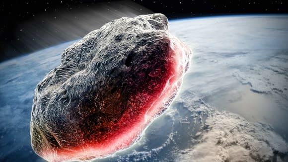 Nový obří Asteroid míří k Zemi