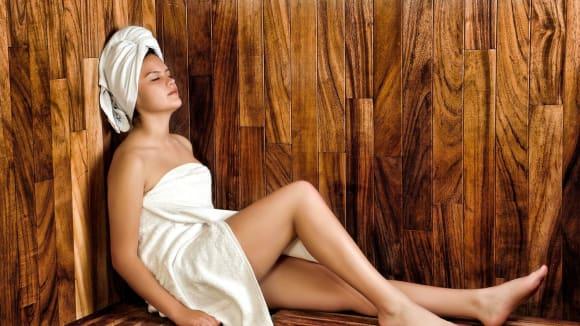 Krása v sauně