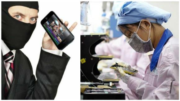 V čínské továrně se kradly iPhony. Ve velkém!