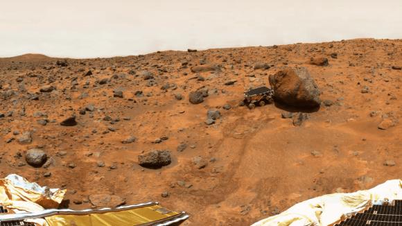 Mars (ilustrační foto)