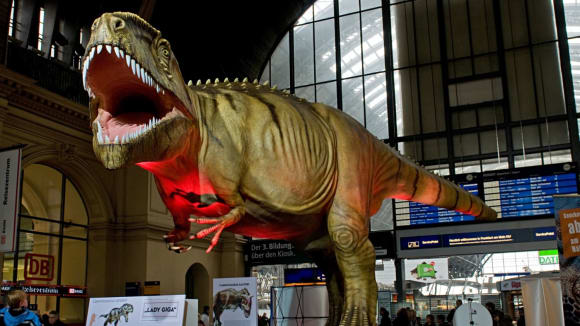 Dinosaurus Lady Giga