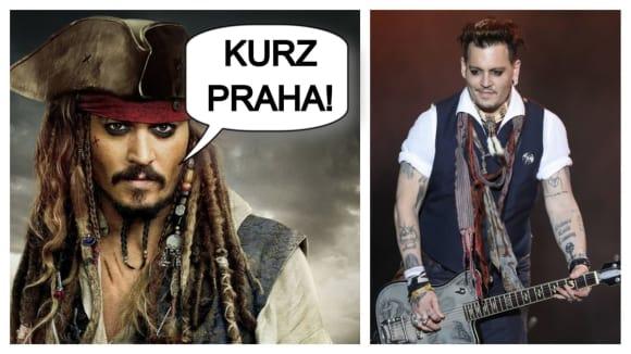 Johny Depp zahraje v Praze jako doprovod Ozzyho Osbourna