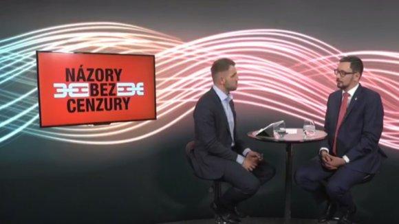 Jiří Ovčáček v pořadu Názory bez cenzury