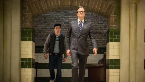 Záběry z filmu Kingsman: Tajná služba