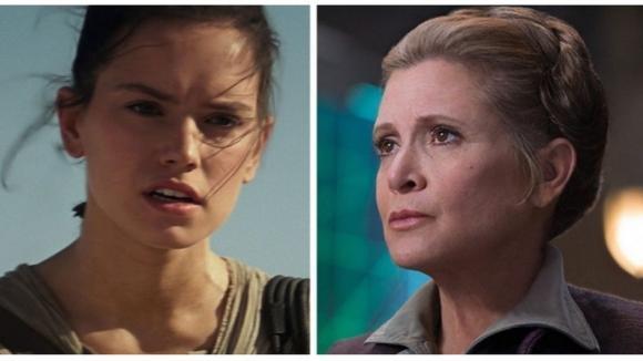 Rey a Leia - co všechno je spojuje?