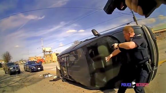 Efektní zásah brooklynské policie.