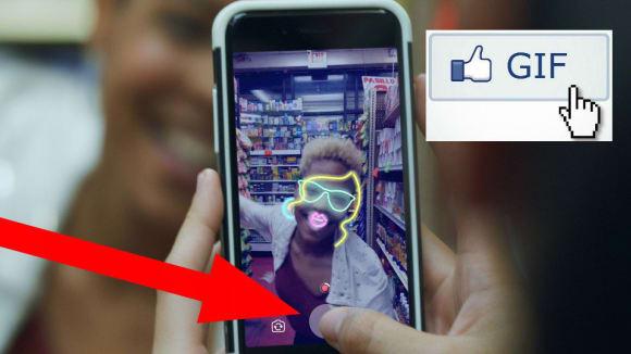 Ve facebookové aplikaci můžete nově vytvářet vlastní GIFy