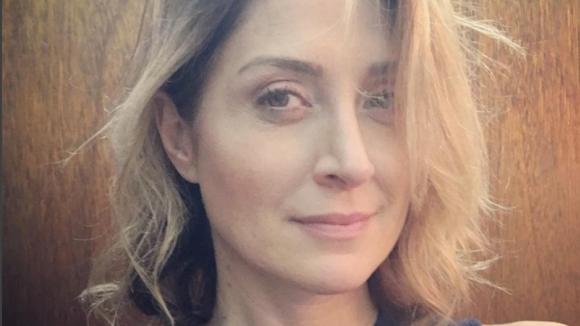 Rizzoli a Isles - Sasha Alexander selfie