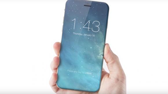 Mluví se, že displej iPhonu 8 bude nejen zahnutý, ale taky přes celou přední stranu zařízení.