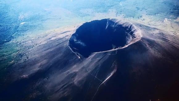 Kráter Vesuvu - výpravný