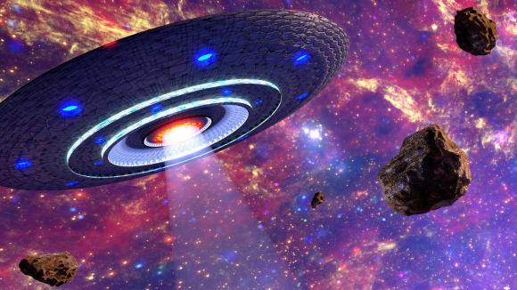 Prostě UFO... a vesmír okolo