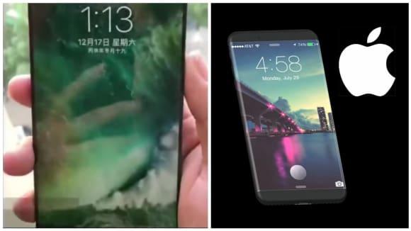 Jsou toto první záběry na prototyp iPhonu 8? Těžko, ale...