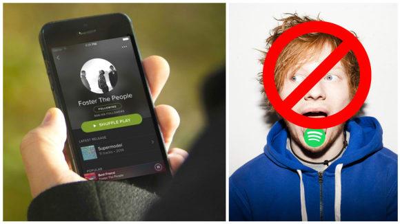 Podle nových pravidel už se posluchači zdarma nemusí dostat k novým deskám na Spotify.