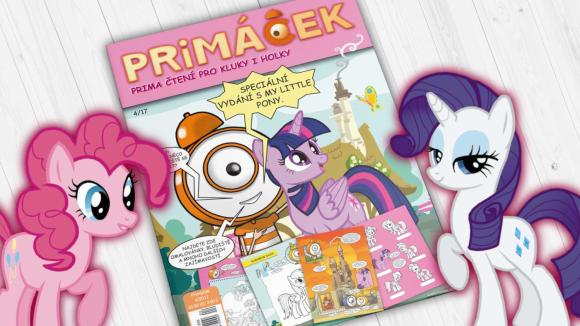 PRIMÁČEK – speciální klientské vydání dětského časopisu