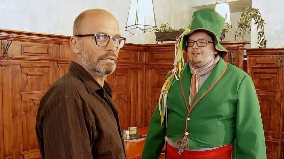 Šéf a pan Brekeke.