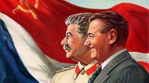 Dvě muži, dva státníci, dvě nabalzamované mrtvoly