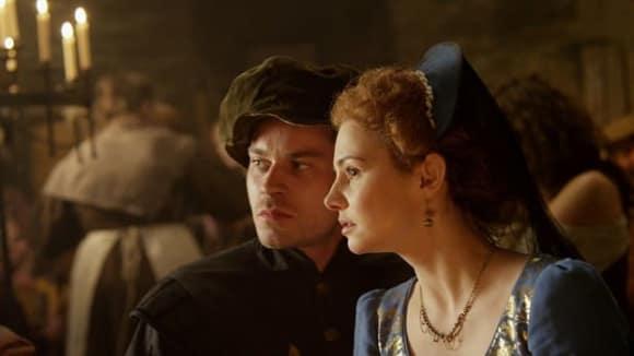 Záběry z filmu Modrá jako safír