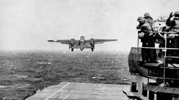 Jedno z letadel Doolitlova náletu