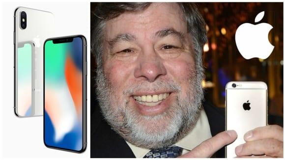 Steve Wozniak zatím o nový iPhone X nestojí