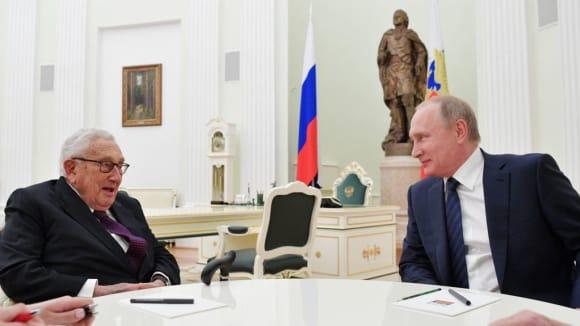 Henry Kissinger s Vladimirem Putinem