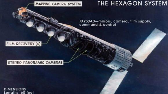 špionážní satelit KH 9