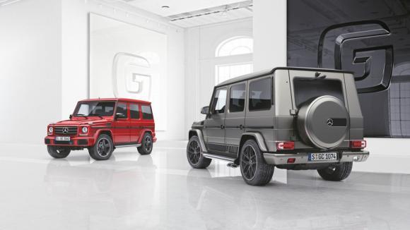 Speciální edice pro Mercedes třídy G.
