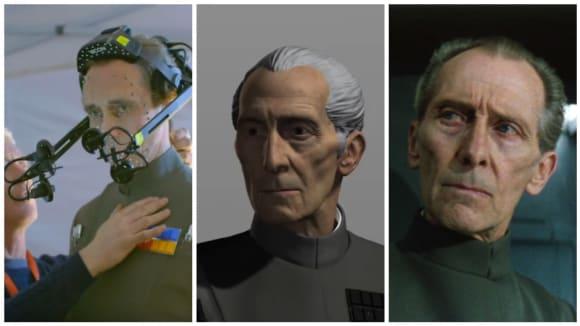 Jak vznikal CGI Tarkin v Rogue One: Star Wars Story