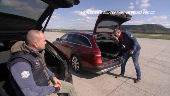 Mercedes E All-Terrain vs Volvo V90 CC