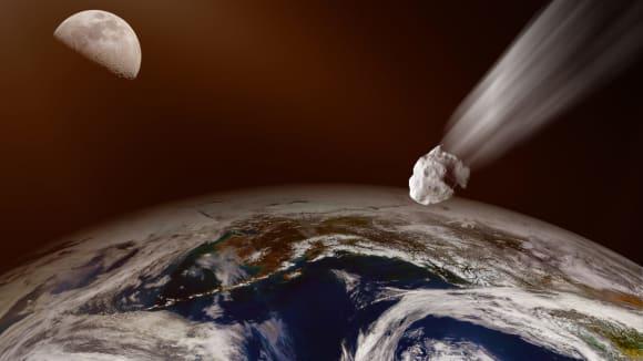 Gigantický asteroid míří k Zemi