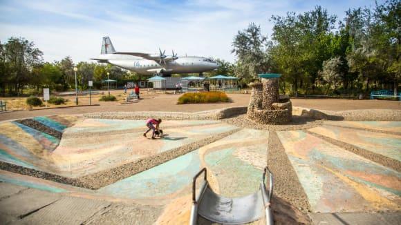 Bajkonur - letecký památník