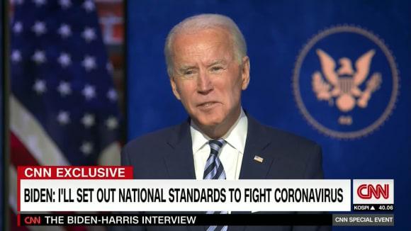 Exkluzivně: Joe Biden a Kamala Harrisová 4.12.2020