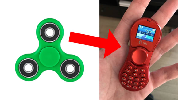 Fidget spinner telefon