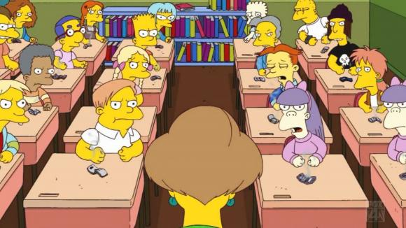 simpsons school