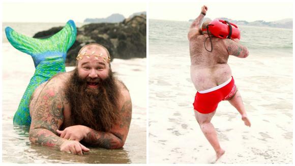 Plážový život, jak ho vidí Joshua Varozza neboli Dudeoir.