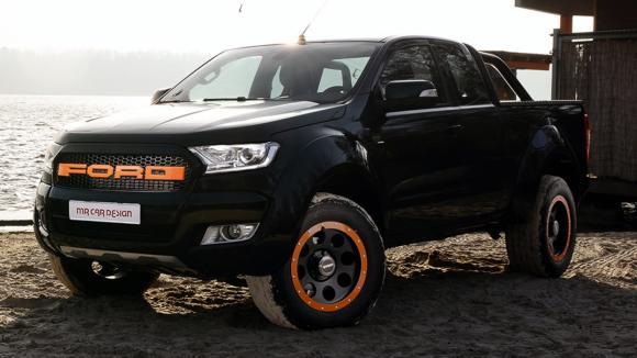 Ford Ranger pro frajery. Ještě širší a výkonnější