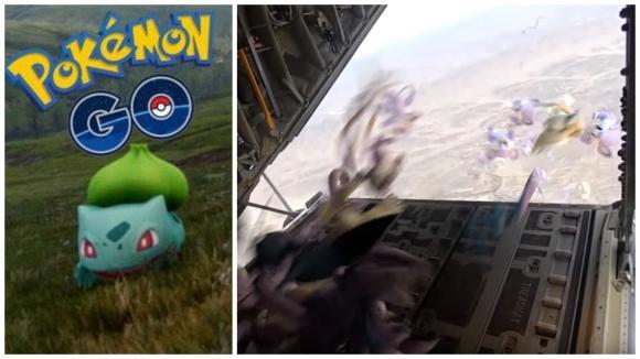 Pokémoni musejí vydržet pád z ohromné výšky