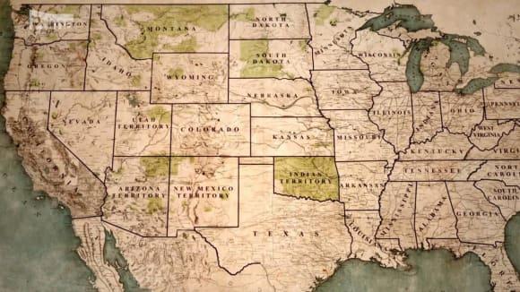 Indiánská teritoria krátce před rokem 1900