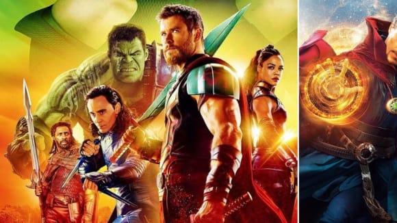 Thor a Doctor Strange