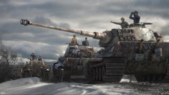 Bitva o Ardeny z pohledu tvůrců počítačové hry Battle of the Bulge
