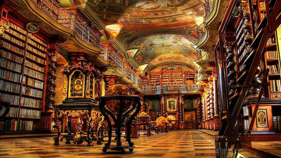 Národní knihovna v Praze, Praha, Česká republika