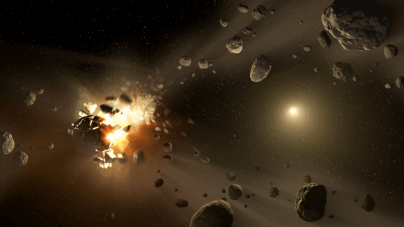 Těžba na asteroidech nemusí být zrovna bezpečná