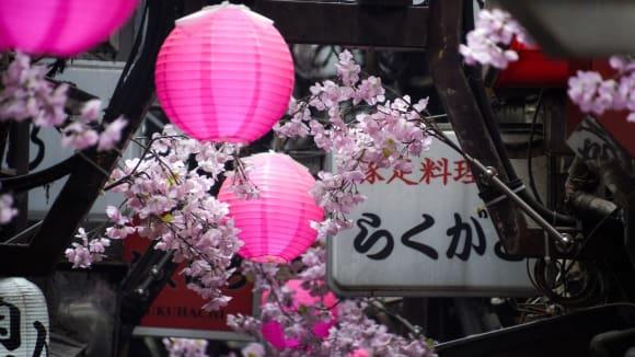 Poslední jarní den v Tokiu