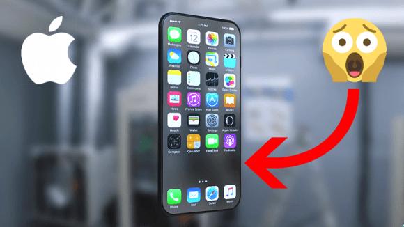 iPhone 8 nemá mít žádná fyzická tlačítka... a to ani na boku!