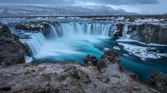 Krása islandských vodopádů