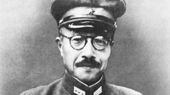 Japonský válečný premiér Hideki Tódžó