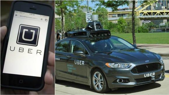 Samořiditelná vozidla Uberu