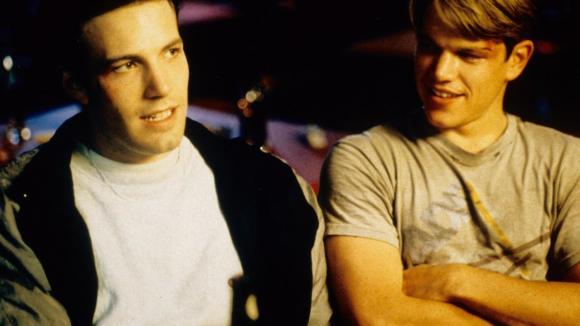Ben Affleck a Matt Damon - kámoši, jak hrom, jsou Jerry a Tom :)