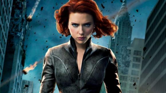 black widow avengers 2012